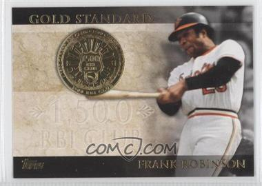 2012 Topps - Gold Standard #GS-39 - Frank Robinson