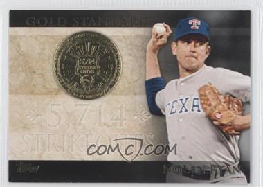 2012 Topps - Gold Standard #GS-40 - Nolan Ryan