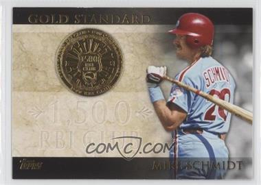 2012 Topps - Gold Standard #GS-41 - Mike Schmidt