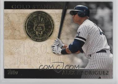 2012 Topps - Gold Standard #GS-44 - Alex Rodriguez