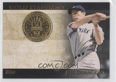 2012 Topps - Gold Standard #GS-46 - Joe DiMaggio