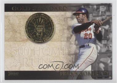 2012 Topps - Gold Standard #GS-7 - Frank Robinson