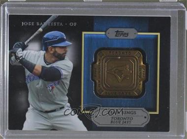 2012 Topps - Gold Team Rings #GTR-JB - Jose Bautista