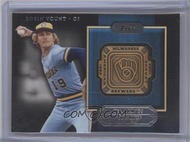 2012 Topps - Gold Team Rings #GTR-RY - Robin Yount
