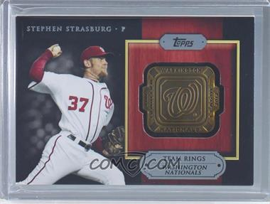 2012 Topps - Gold Team Rings #GTR-SS - Stephen Strasburg