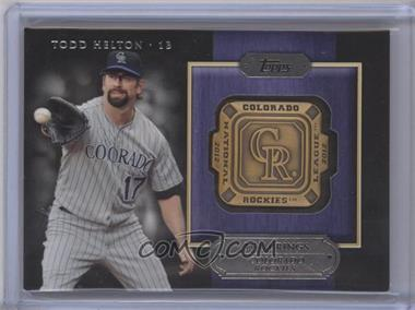 2012 Topps - Gold Team Rings #GTR-TH - Todd Helton