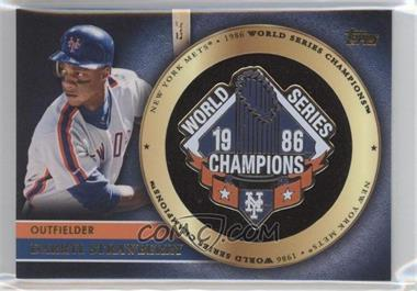 2012 Topps - Gold World Series Pin Card #GWSP-DS - Darryl Strawberry