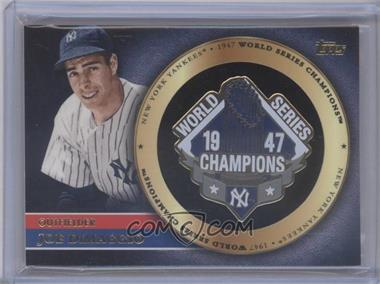 2012 Topps - Gold World Series Pin Card #GWSP-JD - Joe DiMaggio