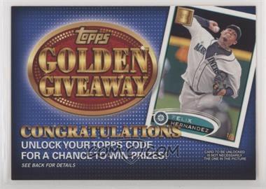 2012 Topps - Golden Giveaway Code Cards #GGC-12 - Felix Hernandez