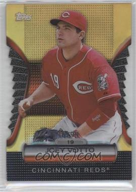 2012 Topps - Golden Giveaway Contest Golden Moments Die-Cut - Gold #GMDC-57 - Joey Votto /99