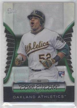 2012 Topps - Golden Giveaway Contest Golden Moments Die-Cut #GMDC-101 - Yoenis Cespedes