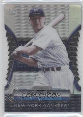 2012 Topps - Golden Giveaway Contest Golden Moments Die-Cut #GMDC-2 - Lou Gehrig