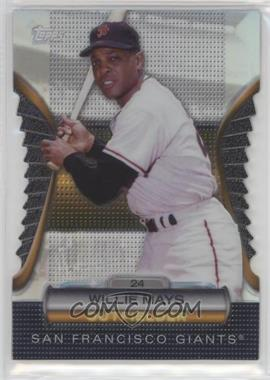 2012 Topps - Golden Giveaway Contest Golden Moments Die-Cut #GMDC-6 - Willie Mays