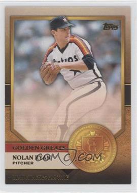 2012 Topps - Golden Greats #GG-10 - Nolan Ryan