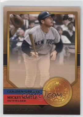 2012 Topps - Golden Greats #GG-31 - Mickey Mantle
