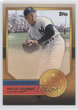 2012 Topps - Golden Greats #GG-34 - Mickey Mantle
