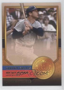 2012 Topps - Golden Greats #GG-35 - Mickey Mantle