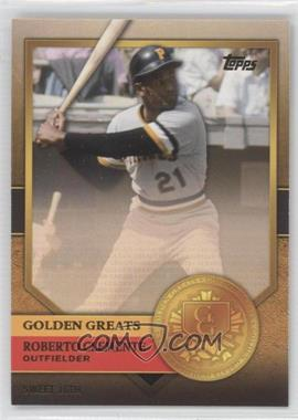 2012 Topps - Golden Greats #GG-36 - Roberto Clemente