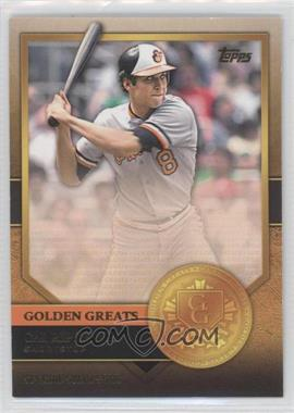 2012 Topps - Golden Greats #GG-43 - Cal Ripken Jr.