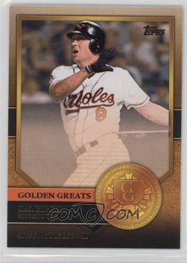 2012 Topps - Golden Greats #GG-44 - Cal Ripken