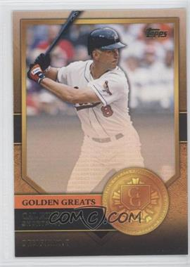 2012 Topps - Golden Greats #GG-45 - Cal Ripken Jr.