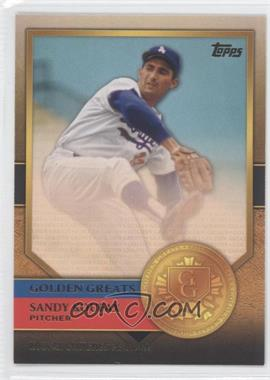 2012 Topps - Golden Greats #GG-48 - Sandy Koufax