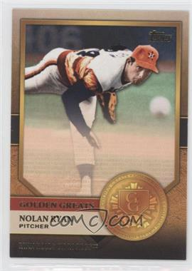 2012 Topps - Golden Greats #GG-6 - Nolan Ryan