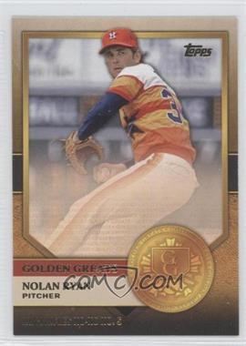 2012 Topps - Golden Greats #GG-7 - Nolan Ryan