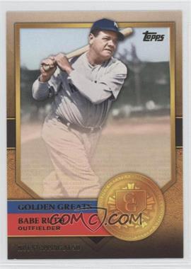 2012 Topps - Golden Greats #GG-72 - Babe Ruth