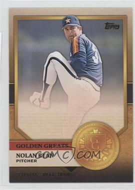 2012 Topps - Golden Greats #GG-8 - Nolan Ryan
