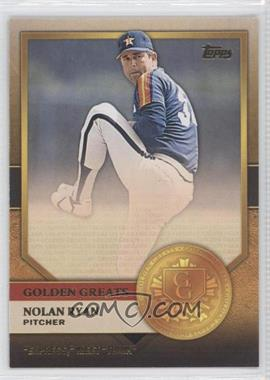 2012 Topps - Golden Greats #GG-8 - Nolan Ryan