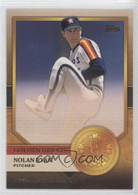 2012 Topps - Golden Greats #GG-9 - Nolan Ryan