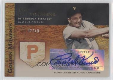2012 Topps - Golden Moments Certified Autographs - Gold #GMR-RK - Ralph Kiner /10
