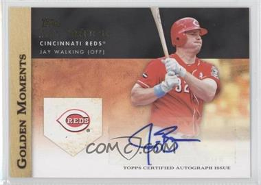 2012 Topps - Golden Moments Certified Autographs #GMA-JBR - Jay Bruce