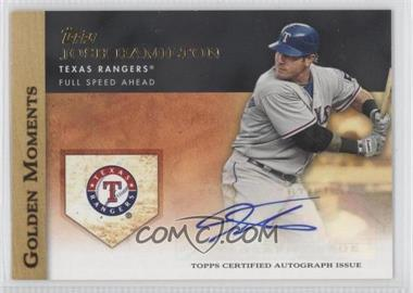 2012 Topps - Golden Moments Certified Autographs #GMA-JHA - Josh Hamilton