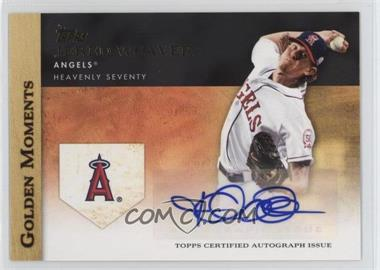 2012 Topps - Golden Moments Certified Autographs #GMA-JW - Jered Weaver