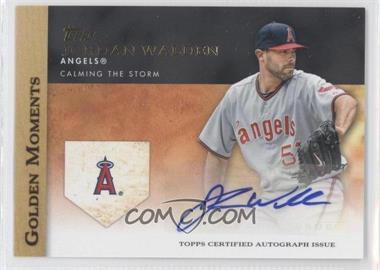 2012 Topps - Golden Moments Certified Autographs #GMA-JW - Jordan Walden