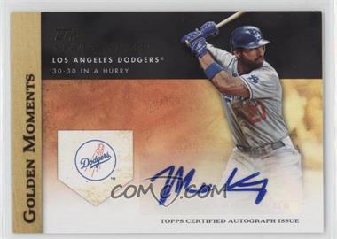 2012 Topps - Golden Moments Certified Autographs #GMA-MK - Matt Kemp