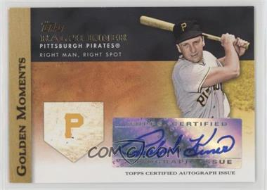 2012 Topps - Golden Moments Certified Autographs #GMA-RK - Ralph Kiner