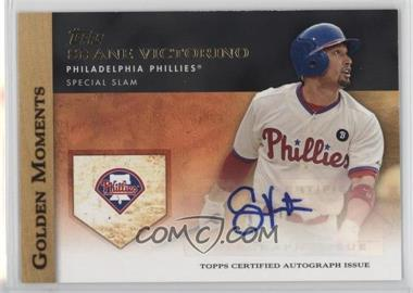 2012 Topps - Golden Moments Certified Autographs #GMA-SV - Shane Victorino