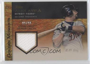 2012 Topps - Golden Moments Game-Used Memorabilia - Gold #GMR-AA - Alex Avila /99