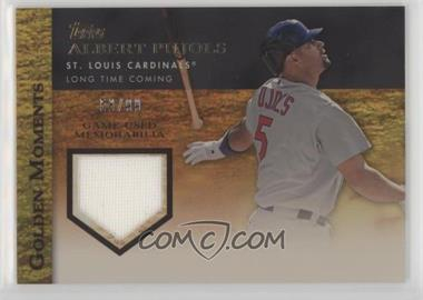 2012 Topps - Golden Moments Game-Used Memorabilia - Gold #GMR-AP - Albert Pujols /99