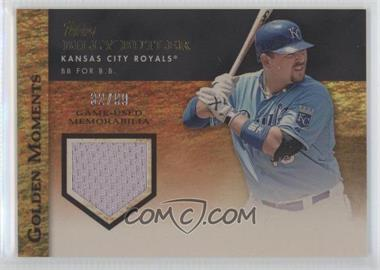 2012 Topps - Golden Moments Game-Used Memorabilia - Gold #GMR-BB - Billy Butler /99
