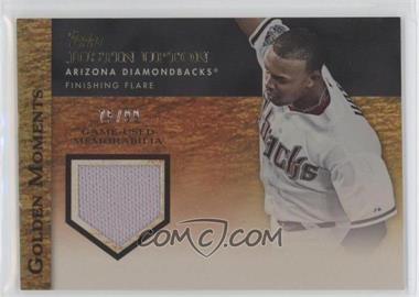 2012 Topps - Golden Moments Game-Used Memorabilia - Gold #GMR-JU - Justin Upton /99