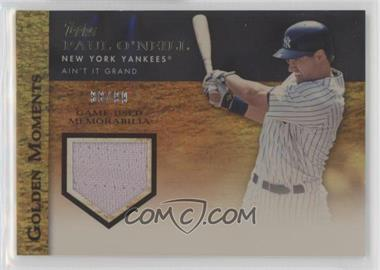 2012 Topps - Golden Moments Game-Used Memorabilia - Gold #GMR-PO - Paul O'Neill /99