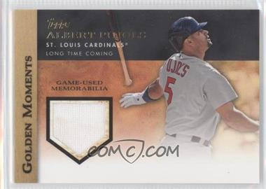 2012 Topps - Golden Moments Game-Used Memorabilia #GMR-AP.2 - Albert Pujols (Just Released Bat)