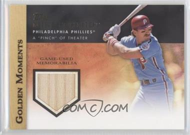 2012 Topps - Golden Moments Game-Used Memorabilia #GMR-MS.1 - Mike Schmidt