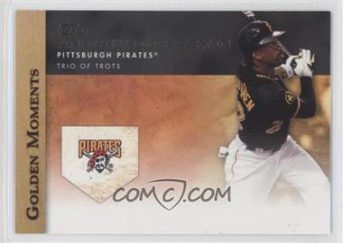 2012 Topps - Golden Moments Series One #GM-12 - Andrew McCutchen
