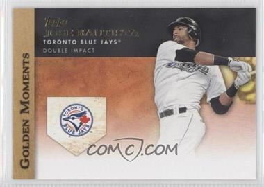 2012 Topps - Golden Moments Series One #GM-2 - Jose Bautista