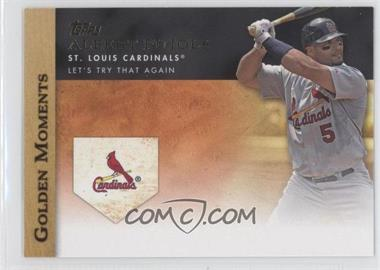 2012 Topps - Golden Moments Series One #GM-29 - Albert Pujols